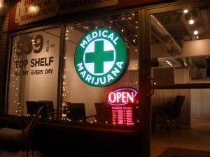 A medical marijuana dispensary in Colorado (O'dea)